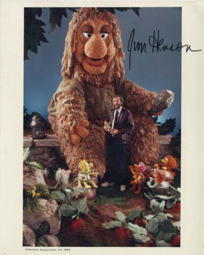 Jim Henson hand signed Fraggle Rock vintage promo 8x10 photo 1984 RARE!!