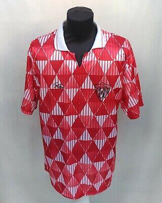 Rare 90s Nea Salamis Famagusta FC Cyprus Football Jersey Strata Shirt Size Men L image