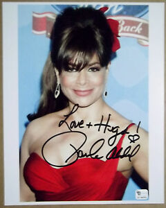 PAULA-ABDUL-Signed-Inscribed-Beautiful-SEXY-8x10-Color-Photo-American-Idol-GAI