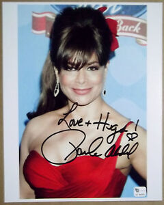 PAULA-ABDUL-Signed-Inscribed-Beautiful-SEXY-8x10-Color-Photo-American-Idol-GAI