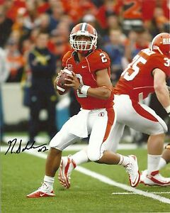 NATHAN-SCHEELHAASE-ILLINOIS-FIGHTING-ILLINI-SIGNED-8X10-PHOTO-W-COA