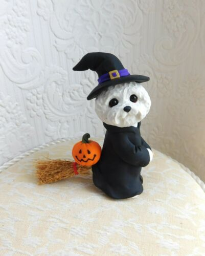 Bichon Frise Cute Witch n