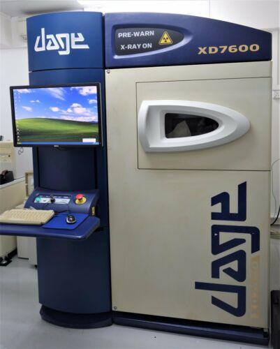 DAGE XD7600 NT X-RAY INSPECTION SYSTEM XiDAT (XD7600NT)