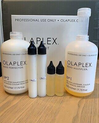 Olaplex No.1& No.2 30/60ml 2 x Super Salon Service Damaged Hair PLEASE...