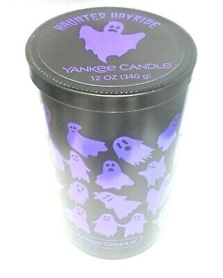 Yankee Candle HAUNTED HAYRIDE 12 ox Candle ~ FREE SHIPPING