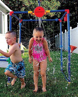 Buckets Of Fun 6 in 1 Backyard Waterpark Splash Pad
