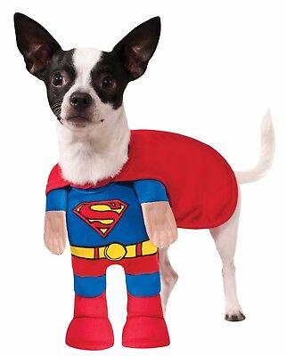 Rubies Superman Klassisch Superheld Heimtier Hund Halloween Kostüm 889225 ()