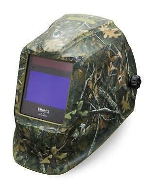 Lincoln Electric Viking 2450 White Tail Camo Auto Darkening Weld Helmet K4411-3