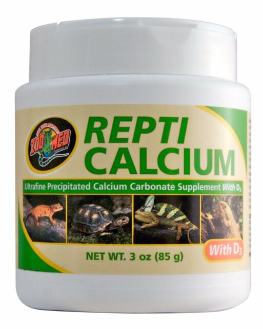 ZOO MED REPTI CALCIUM WITH D3 REPTILES 85g 0097612134032