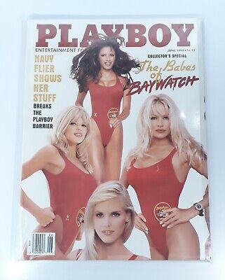 Vintage Playboy Magazine June 1998 Babes of Baywatch Pamela Anderson