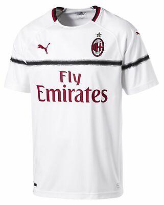 Puma 2018-2019 AC Milan Away Jersey- White