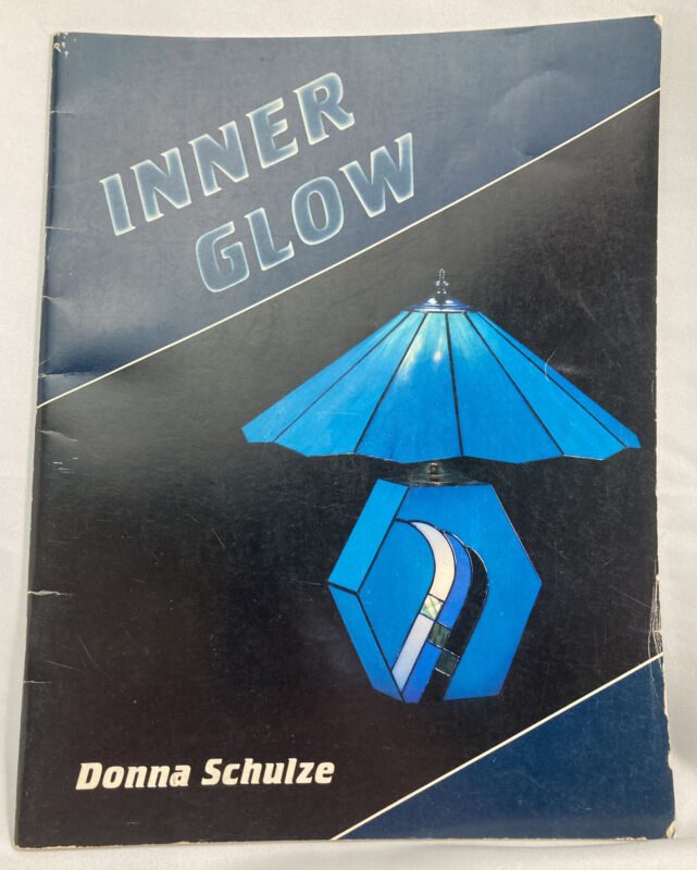 Inner Glow Stained Glass Lamp Project Pattern Book, Create Lamp Base and Shade