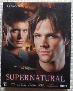 SUPERNATURAL SEASON 1-5 DVD BOX SET $20 TODAY ONLY Isaacs Woden Valley Preview