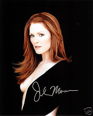 JULIANNE MOORE AUTOGRAPH SIGNED PP PHOTO POSTER 1