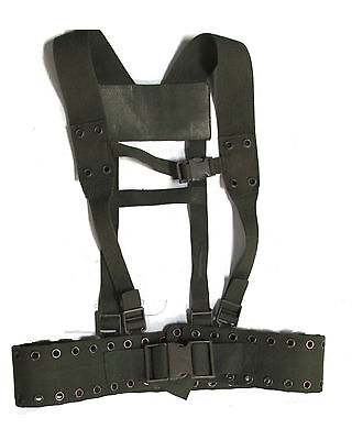German Army Harness Field Suspender System - Authentic European Military Surplus