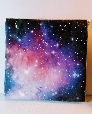 GALAXY Celestial Space Print Paper Napkins Birthday Party Supplies Decor - 16 ct