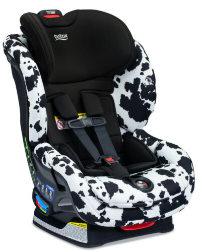 Britax Boulevard Clicktight Convertible Car Seat Child Safety Cowmooflage 2.0