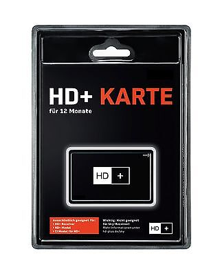 NEUSTE Version HD04 HD+ Karte 12 Monate Laufzeit HDTV HD plus für Astra Sender