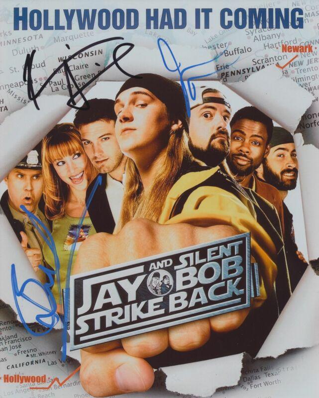 JAY AND SILENT BOB STRIKE BACK CAST SIGNED 8X10 PHOTO