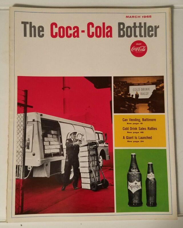 THE COCA-COLA BOTTLER - VINTAGE MAGAZINE - MARCH 1965
