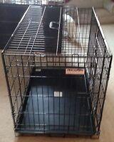 """36""""L Double Door Wire Folding Kennel"""