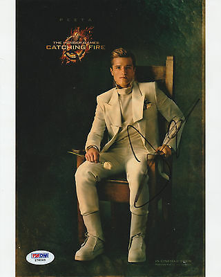 Josh Hutcherson Signed Autod 8X10 Photo Psa Dna Coa Z78263 Hunger Games Peeta