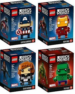LEGO Marvel Avengers 4 BrickHeadz 41589 41590 41591 41592 sealed free shipping