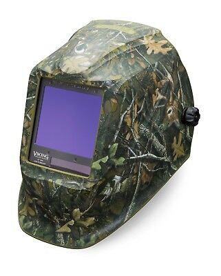 Lincoln Electric Viking 3350 White Tail Camo Auto-darkening Weld Helmet K4412-3