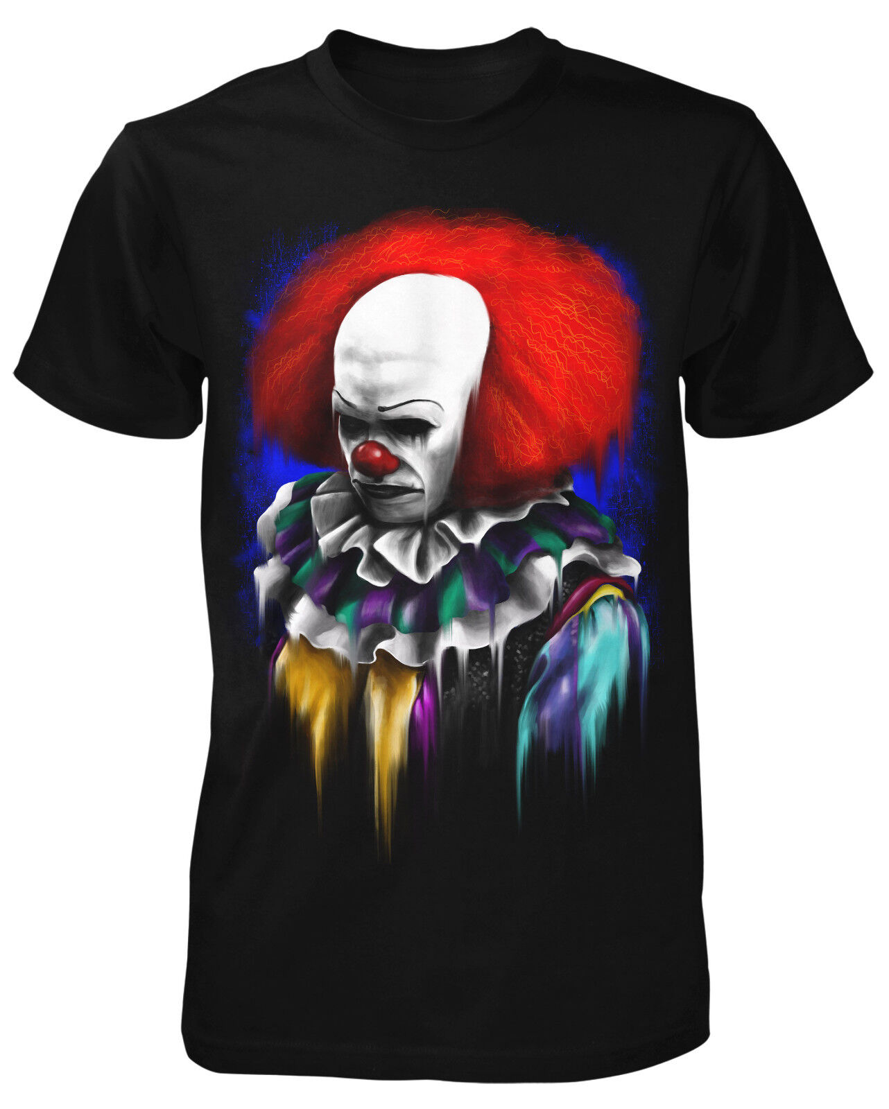 Its Playtime T-Shirt Horror Pennywise Clown Film Movie It Kids Maske Funny Death