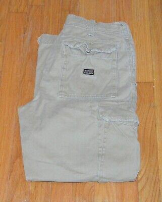 """Abercrombie & Fitch Vintage Fatigues Men's Cargo Pants Beige Size 32"""" X 30"""""""