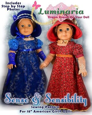 Doll Pattern Dress - American Girl Doll Dress Clothes Pattern 18