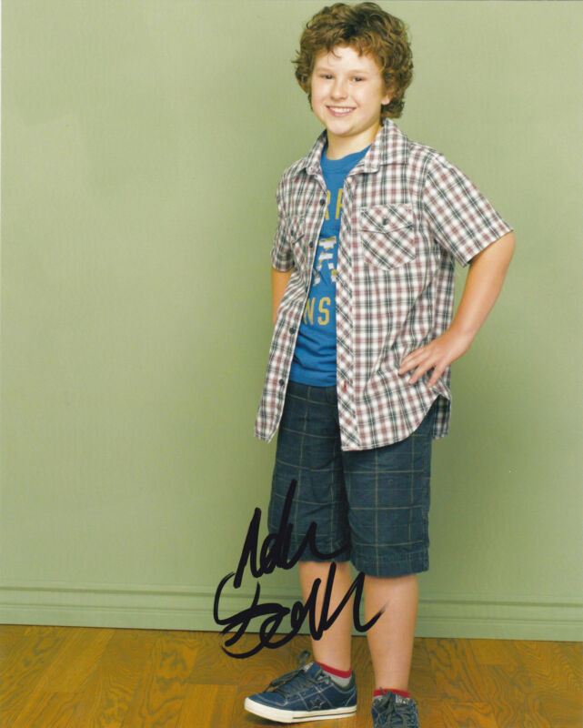 Nolan Gould Signed 8x10 Photo Authentic Autograph ABC Modern Family COA