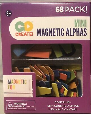 Mini Magnetic Alphabet Letters For Kids/ Business Signs Colors 1.75 inch letters