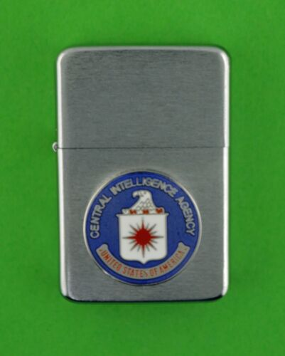 CIA CENTRAL INTELLIGENCE  AGENCY WIND PROOF PREMIUM LIGHTER - GIFT BOX SBC21