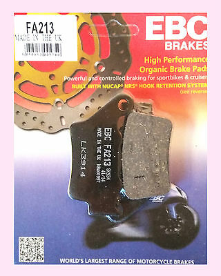 EBC FA213 Rear Brake pads for Yamaha MT  MT03 (660cc)   2006 to 2012