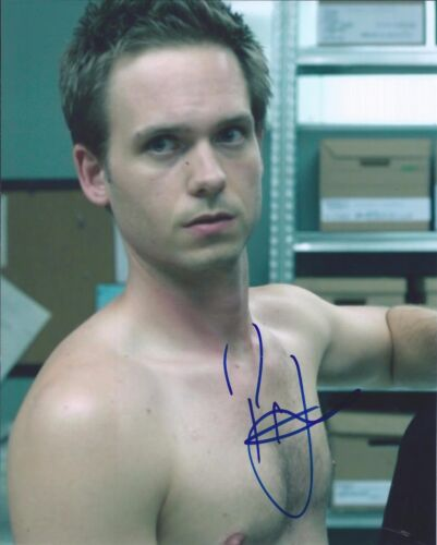 Patrick J Adams Signed Autographed 8x10 Photo Suits Actor Shirtless