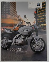 Bmw F650 Cs Catalogo Depliant Prospekt Brochure Reclame Pubblicita -  - ebay.it