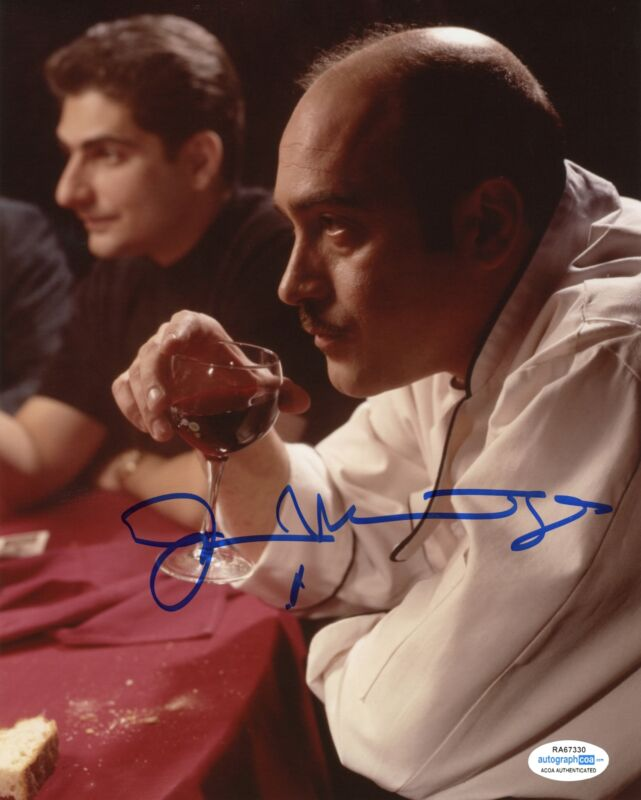 "John Ventimiglia ""The Sopranos"" AUTOGRAPH Signed 8x10 Photo B ACOA"