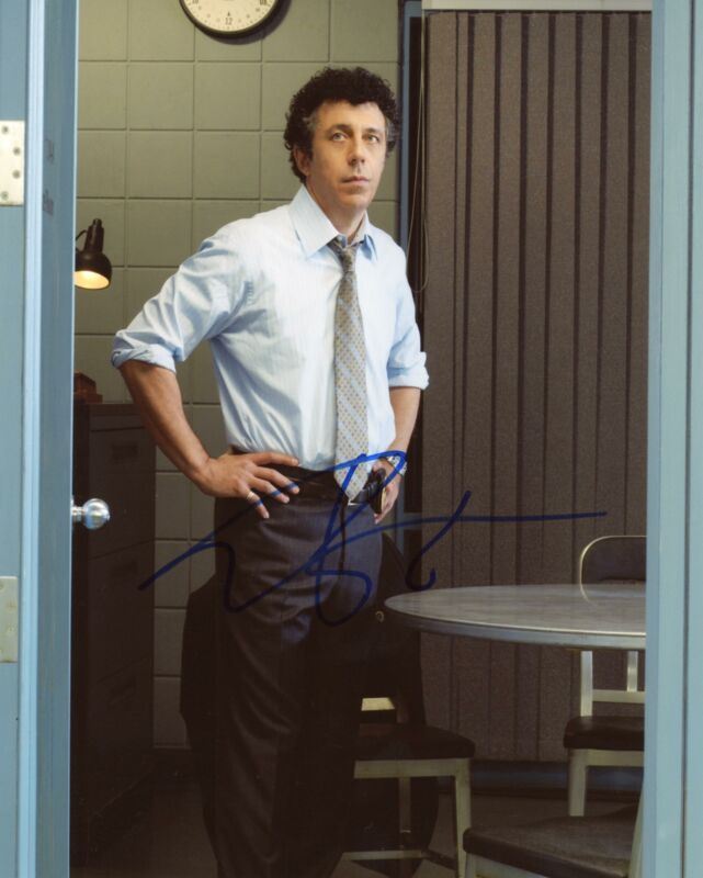 "Eric Bogosian ""Law & Order"" AUTOGRAPH Signed 8x10 Photo B ACOA"