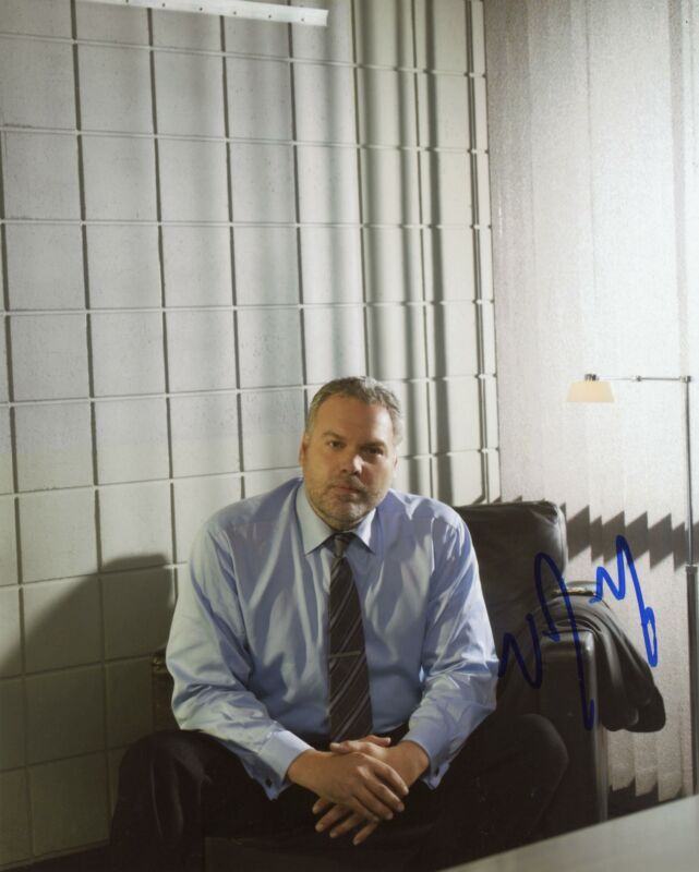 "Vincent D'Onofrio ""Law & Order: Criminal Intent"" AUTOGRAPH Signed 8x10 Photo C"