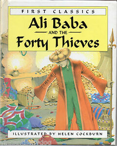 Ali-Baba-The-Forty-Thieves-First-Classics-illustrated-by-Helen-Cockburn