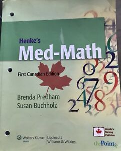 Med Math nursing textbook