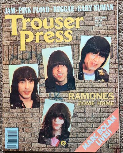 Trouser Press Magazine Ramones cover  May 1980