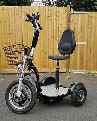 3 WHEEL 1000W/18mph ELECTRIC MOBILITY SCOOTER TRIAD TRICYCLE TRIKE