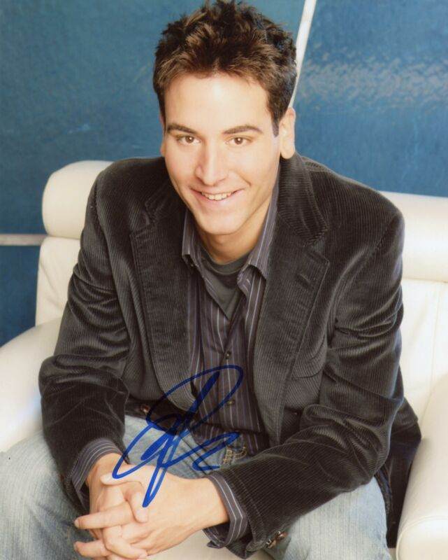 "Josh Radnor ""How I Met Your Mother"" AUTOGRAPH Signed 8x10 Photo"