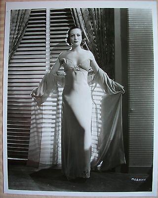 Joan Crawford Beautiful  Glamour  8X10 Photograph