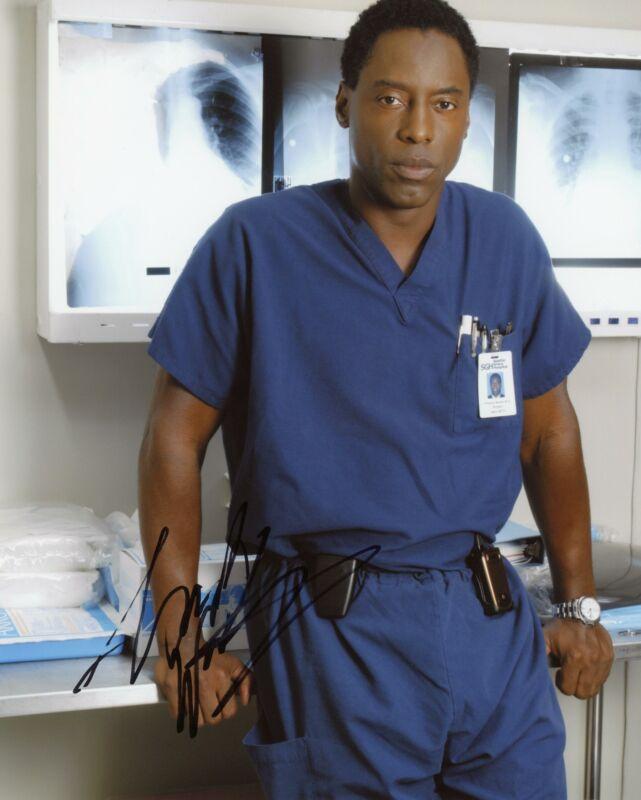 "Isaiah Washington ""Grey's Anatomy"" AUTOGRAPH Signed 8x10 Photo F"