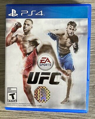 EA Sports UFC (Sony PlayStation 4, 2014) PS4 for sale  Shipping to Nigeria