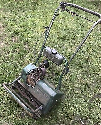 Vintage Atco Commodore B17 Self Propelled Mower - Petrol Lawnmower
