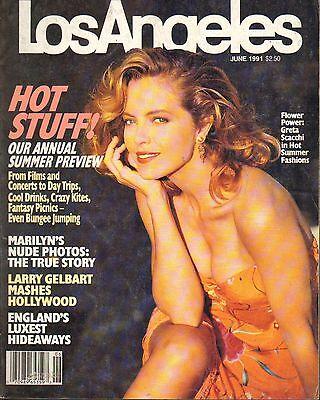 June 1991   Los Angeles Local News Magazine Greta Scacchi